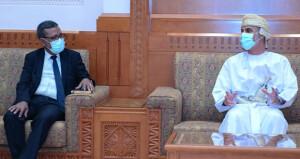 بحث التعاون بين السلطنة وجمهورية موريتانيا فـي مختلف المجالات