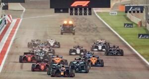 هاميلتون يحسم سباقا افتتاحيا مثيرا فـي جائزة البحرين الكبرى