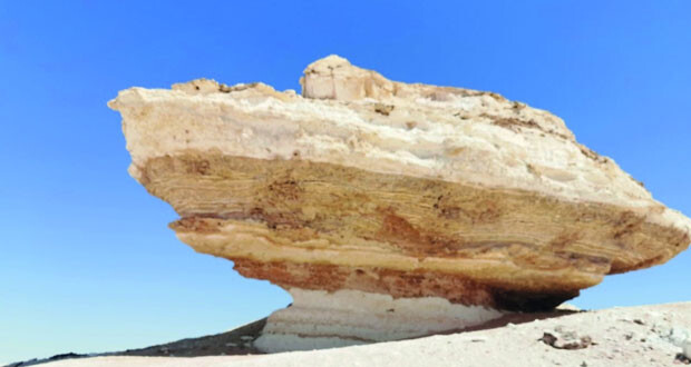 صخرة الحوجا .. معلم تاريخي بارز
