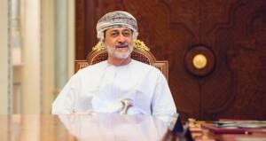 جلالة السلطان يتبادل تهاني عيد الفطر مع أمير الكويت