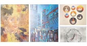 17 فنانا يختتمون مشاركاتهم فـي «ملتقى الفنون» بالقرم