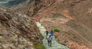 جبل خونيه «مدرجات سعال» متعة المشي الجبلي لهواة الهايكنج