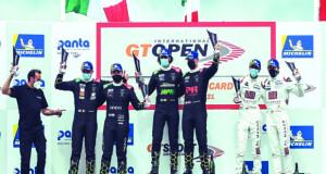 الفيصل الزبير يحصد المركز الثالث في السباق الثاني بالبطولة الدولية المفتوحة للتحمل GT