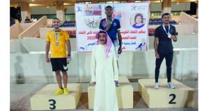 حسين الفارسي يتأهل لبطولة كأس العالم للشباب بكينيا في سباق 800 متر بعد فوزه بالمركز الأول في بطولة الاتحاد الكويتي