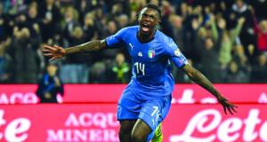 مانشيني يستثني كين من قائمة شبه نهائية لإيطاليا لكأس أوروبا