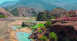 وادي ضيقة وجهة جاذبة للسياح طوال العام