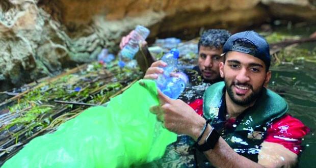تواصل فعاليات حملة «ساعة نظافة» بصور