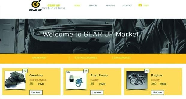 شركة طلابية بجامعة السلطان قابوس تنجح في تصميم منصة لبيع وشراء قطع غيار السيارات