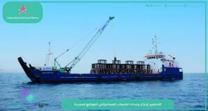 اكتمال المرحلة النهائية من إنشاء الشعاب الصناعية في مسندم