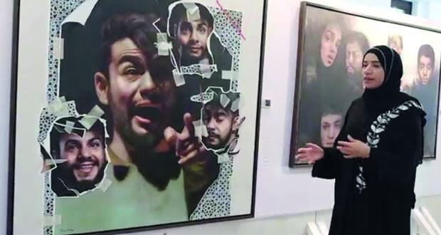 افتتاح المعرض الافتراضي لمقرر«استديو الفن» في جامعة السلطان قابوس