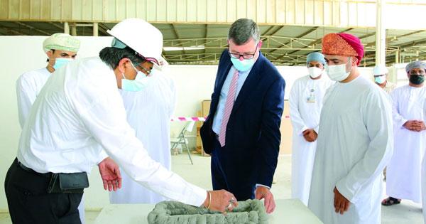افتتاح منشأة للطباعة ثلاثية الأبعاد للخرسانات فـي منطقة غلا الصناعية