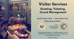 المتحف الوطني ومؤسسة سميثسونيان الأميركية تطلقان سلسلة محاضرات للعاملين بالمتاحف العمانية
