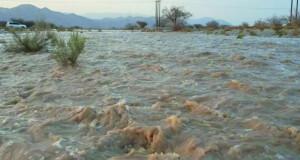 هطول أمطار غزيرة على ولاية منح
