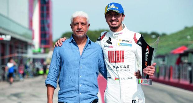 الفيصل الزبير يظفر بكأس الجولة الرابعة للبطولة الدولية المفتوحة GT على حلبة أيمولا الإيطالية