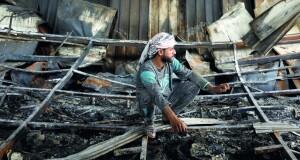 فاجعة فـي العراق.. حريق مستشفى يودي بحياة أكثر من 80 مريضا بكورونا