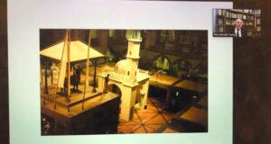 محاضرة حول تاريخ تمثيل الثقافات فـي المتاحف والمراكز الثقافية