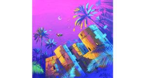 «مراحل رسم لوحة بألوان الأكريلك» .. حلقة عمل بمرسم رواد صحم للفنون