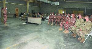 انطلاق التمرين المشترك العماني الأميركي «وادي النار 2021» بين الجيش السلطاني العماني ووحدات من المشاة الأميركية