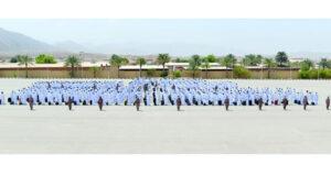 دفعة جنود مستجدين تبدأ التدريب العسكري بالجيش السلطاني العماني