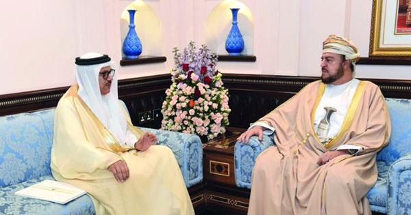 رسالة خطية لجلالة السلطان من ملك البحرين