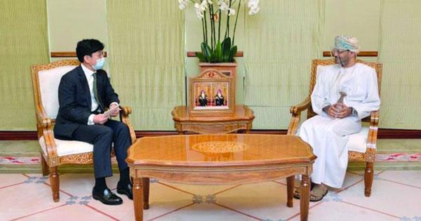 وزير الخارجية يستقبل النائب الثاني لوزير الخارجية بجمهورية كوريا