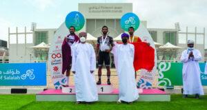منتخب الإمارات يتوج بطواف صلالة للدراجات الهوائية والسعودية وصيفا