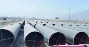 تواصل الأعمال فـي المرحلة الثانية من مشروع تعزيز نظام نقل المياه بالداخلية