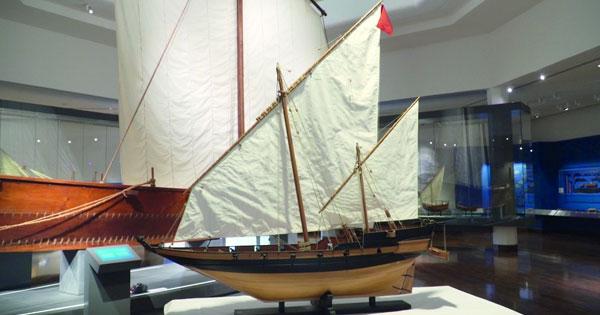 مجسم فائق الدقة لـ«البغلة البحرية» فـي المتحف الوطني