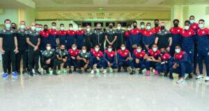 بعثة منتخبنا الوطني الأول في الدوحة بأمل الوصول للنقطة السادسة بتصفيات المونديال