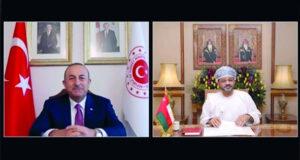 السلطنة وتركيا تؤكدان على متابعة تطور التعاون الاقتصادي والاستثماري