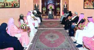 بتكليف من جلالته .. فاتك بن فهر يستقبل رئيس مجلس إدارة جمعية الإرادة