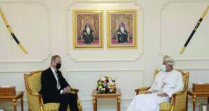 شهاب بن طارق يستقبل سفير المملكة المتحدة