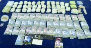 الشرطة تضبط 71 كجم من المخدرات وتلقي القبض على محتالتين إفريقيتين