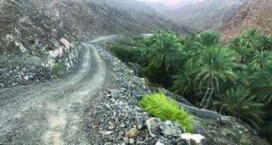 شق طريق جبلي إلى «سد صدامة الدراوشة» بينقل