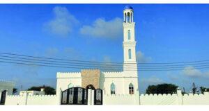 إعادة بناء مسجد الشيخ خميس بن محمد الخميسي بالمصنعة