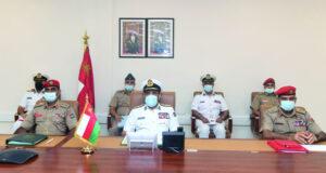 اجتماع اللجنة العسكرية العليا لرؤساء أركان القوات المسلحة بدول مجلس التعاون