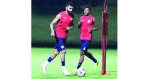 المنتخب الوطني يرفع من وتيرة استعدادته قبل مواجهة أستراليا فـي التصفيات النهائية لمونديال قطر
