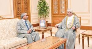 وزير المكتب السلطاني يستقبل سفيري باكستان وأسبانيا