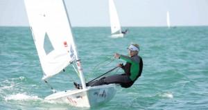 بطولة العالم لقوارب الليزر راديال للناشئين تشهد غموضا فى الصدارة والمنافسة