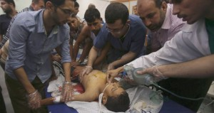 شهيدان وجرحى في غارة إسرائيلية على غزة