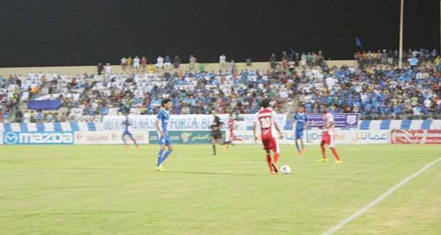 في دوري عمانتل للمحترفين : ظفار يكسب الديربي …تفوق على النصر 2/3