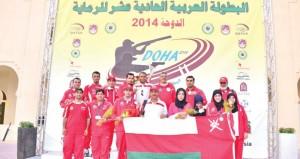 الفريق الوطني للرماية يحرز (6) ميداليات متنوعة