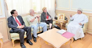 السعيدي يستقبل رئيسة المركز الدولي للتفاهم الديني