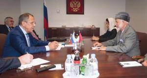 الوزير المسئول عن الشئون الخارجية يلتقي وزراء خارجية روسيا والنرويج ولبنان