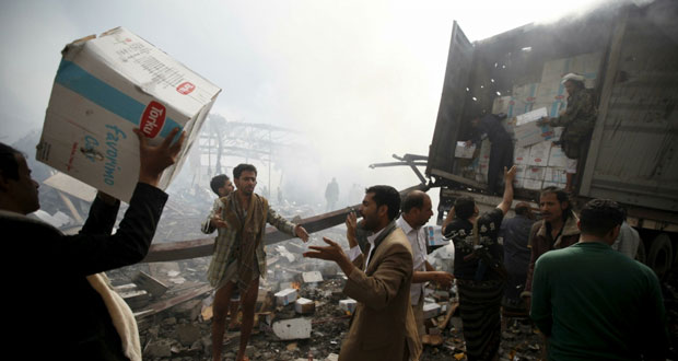 اليمن: قوات هادي تدخل القصر الجمهوري في تعز