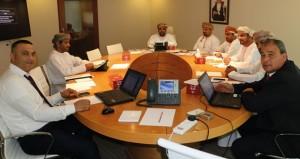 اللجنة الرئيسية لمراكز إعداد الناشئين تناقش انطلاق منافسات الدوري لدفعة 2014