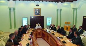 وفد من الكلية الحربية الأميركية يزور وزارة الأوقاف والشؤون الدينية
