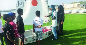 تدريب أكثر من 5000طالب وطالبة برياضة الإبحار الشراعي