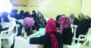 ختام حلقة الكتابة باللغة الإنجليزية بجمعية المرأة بالعوابي