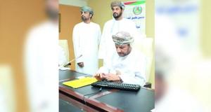 تدشين نظام مورد لإدارة الموارد البشرية ببلدية ظفار